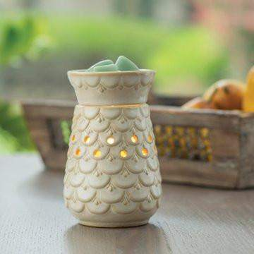 Jewelry Tart Warmer - Scalloped-Jewelry Tart Warmer-The Official Website of Jewelry Candles - Find Jewelry In Candles!