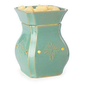 Jewelry Tart Warmer - Simply Turquoise-Jewelry Tart Warmer-The Official Website of Jewelry Candles - Find Jewelry In Candles!