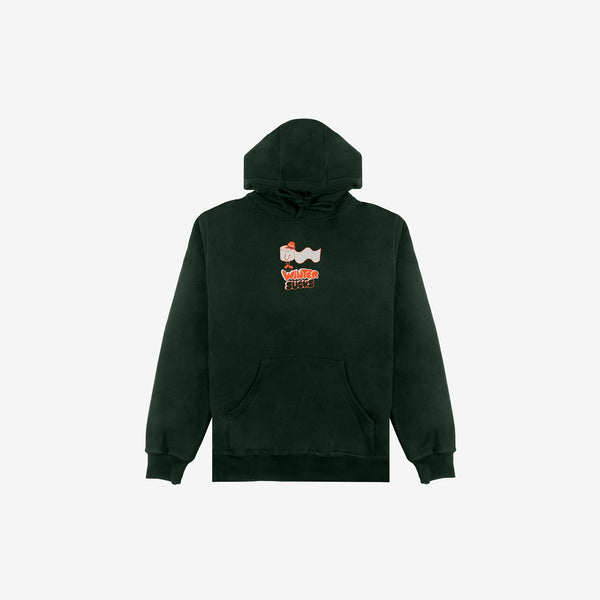 Winter Sucks Hoody - Dark Green