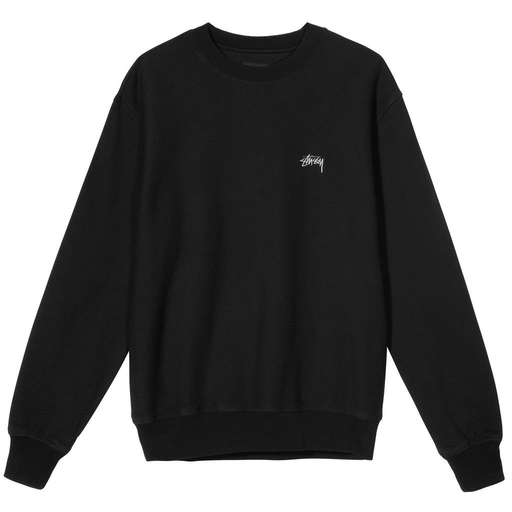 STOCK LOGO CREW - Black