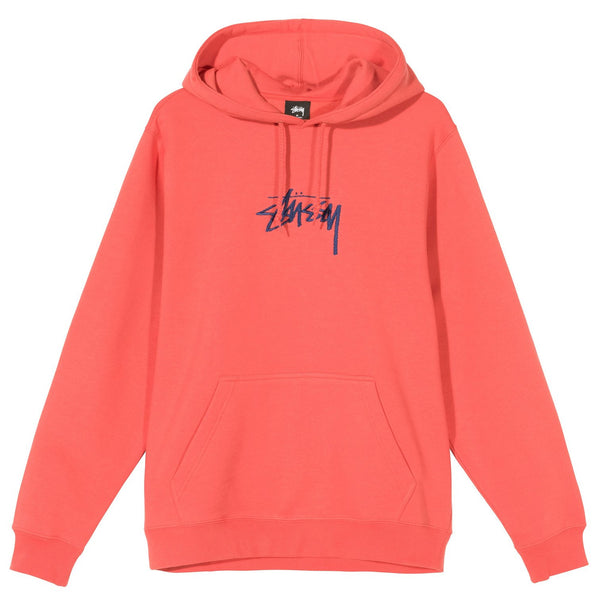 STOCK LOGO HOODIE - Pale Red