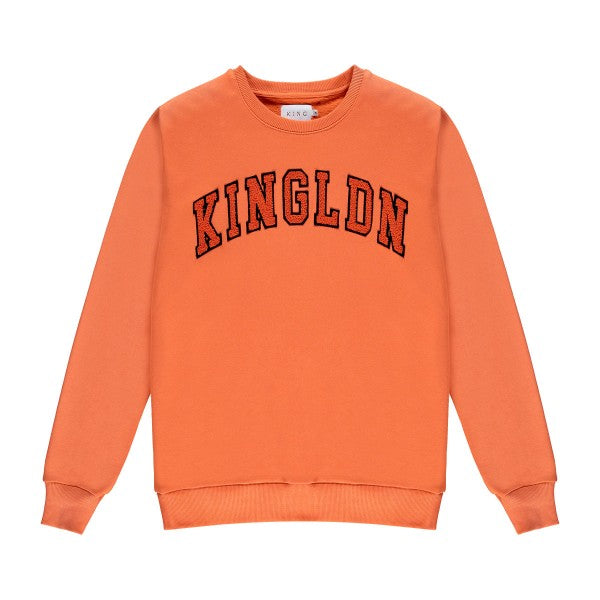 Blackwall Varsity Sweatshirt - Citrus Orange