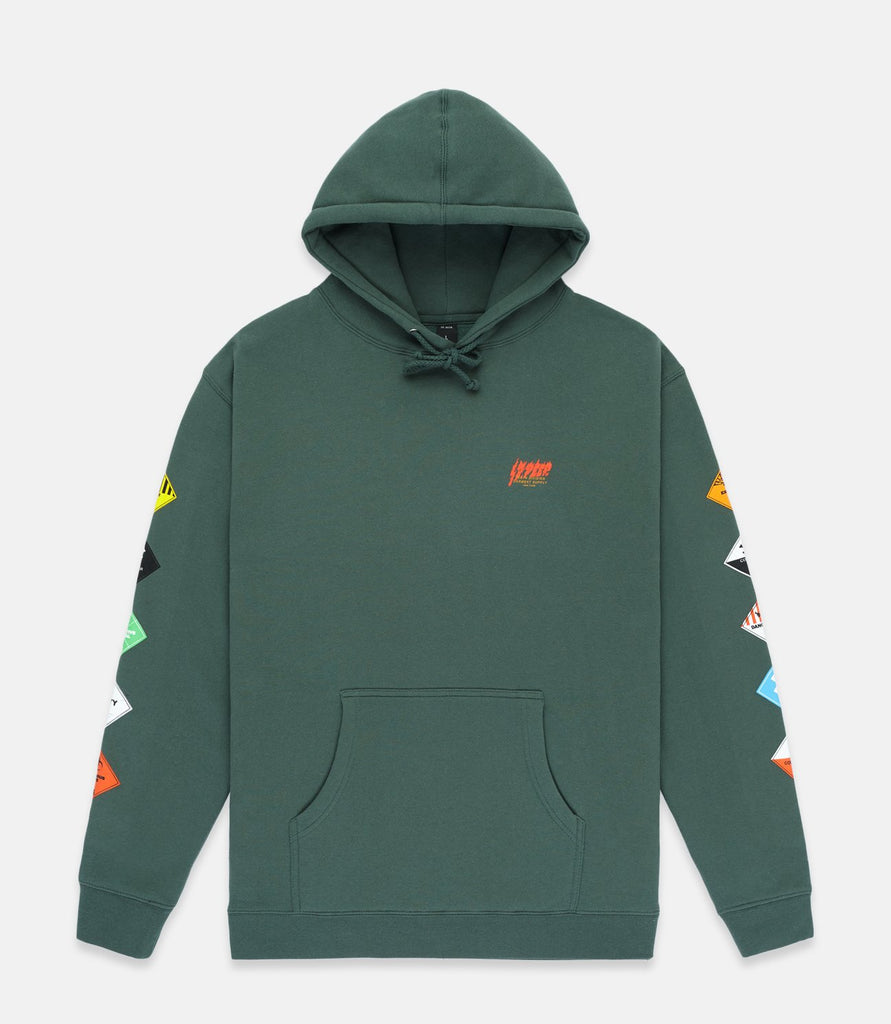 PROHIBITED HOODIE - GREEN