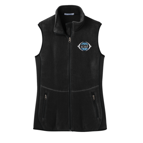 Ladies' ICISF Fleece Vest