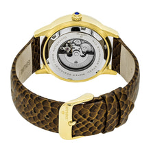 Load image into Gallery viewer, Empress Ayala Automatic MOP Leather-Band Watch - Rose Gold/White - EMPEM1005