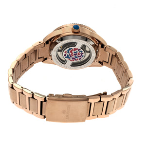 Empress Helena Bracelet Watch w/Date - Rose Gold - EMPEM1803