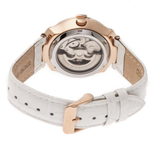 Load image into Gallery viewer, Empress Francesca Automatic MOP Leather-Band Watch - White - EMPEM2205