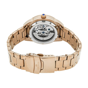 Empress Godiva Automatic MOP Bracelet Watch - Rose Gold/White - EMPEM1103