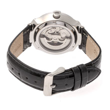 Load image into Gallery viewer, Empress Francesca Automatic MOP Leather-Band Watch - Black - EMPEM2201