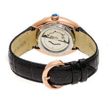 Load image into Gallery viewer, Empress Antoinette Automatic MOP Leather-Band Watch - Rose Gold/White - EMPEM1405