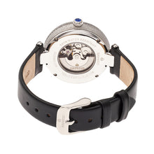 Load image into Gallery viewer, Empress Louise Automatic MOP Leather-Band Watch - Silver - EMPEM2301