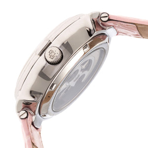 Empress Francesca Automatic MOP Leather-Band Watch - Light Pink - EMPEM2202