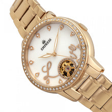 Load image into Gallery viewer, Empress Quinn Automatic MOP Semi-Skeleton Dial Bracelet Watch - Gold - EMPEM2702