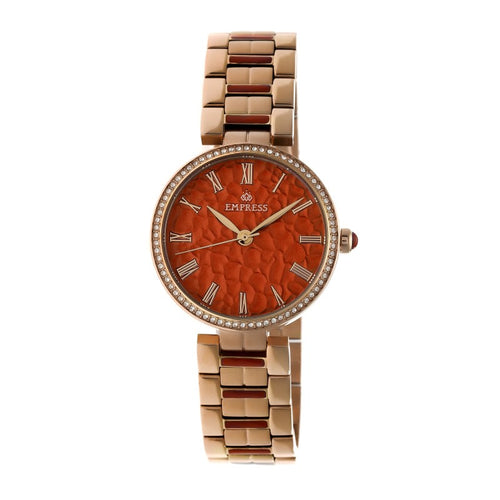 Empress Catherine Automatic Hammered Dial Bracelet Watch - EMPEM1904