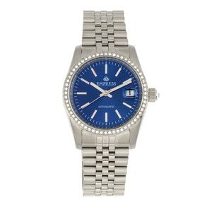 Empress Constance Automatic Bracelet Watch w/Date