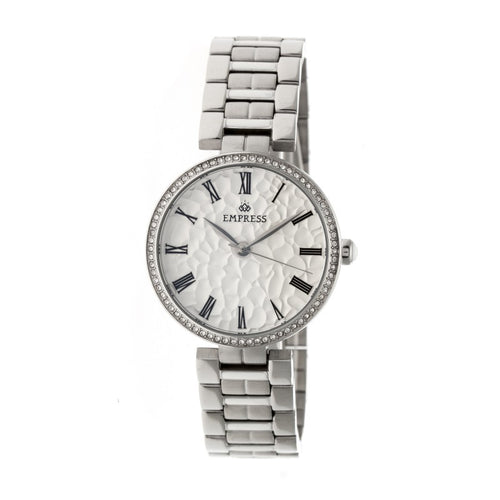 Empress Catherine Automatic Hammered Dial Bracelet Watch - EMPEM1901