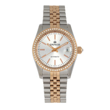 Load image into Gallery viewer, Empress Constance Automatic Bracelet Watch w/Date - Rose Gold/White - EMPEM1507