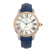 Load image into Gallery viewer, Empress Xenia Automatic Leather-Band Watch - Blue - EMPEM2602