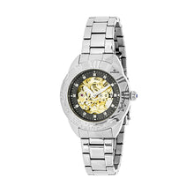 Load image into Gallery viewer, Empress Godiva Automatic MOP Bracelet Watch - Silver/Black - EMPEM1102