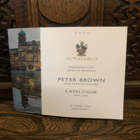 Stonyhurst's 225 Artist in Residence Painting Catalogue