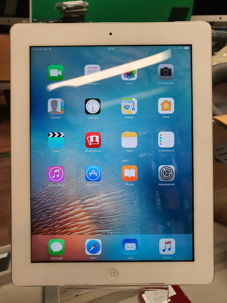 Apple iPad Retina 4 - 16gb - cell - silver