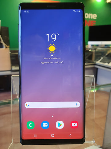 Samsung Galaxy Note 9 - 128gb - DS - blue