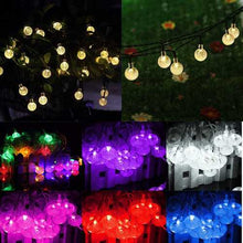 Load image into Gallery viewer, Solar 30 LED Outdoor Waterproof Party String Fairy Light Festival Ambience Lights