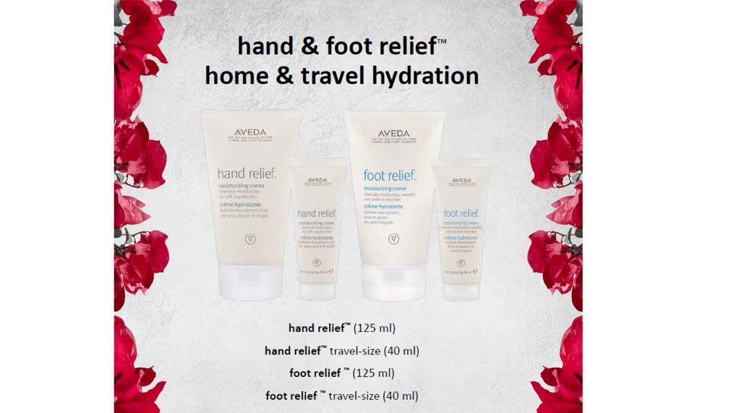Hand+Foot Relief - Home+Travel Hydration