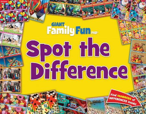 Spot The Difference Giant Family Fun Pad