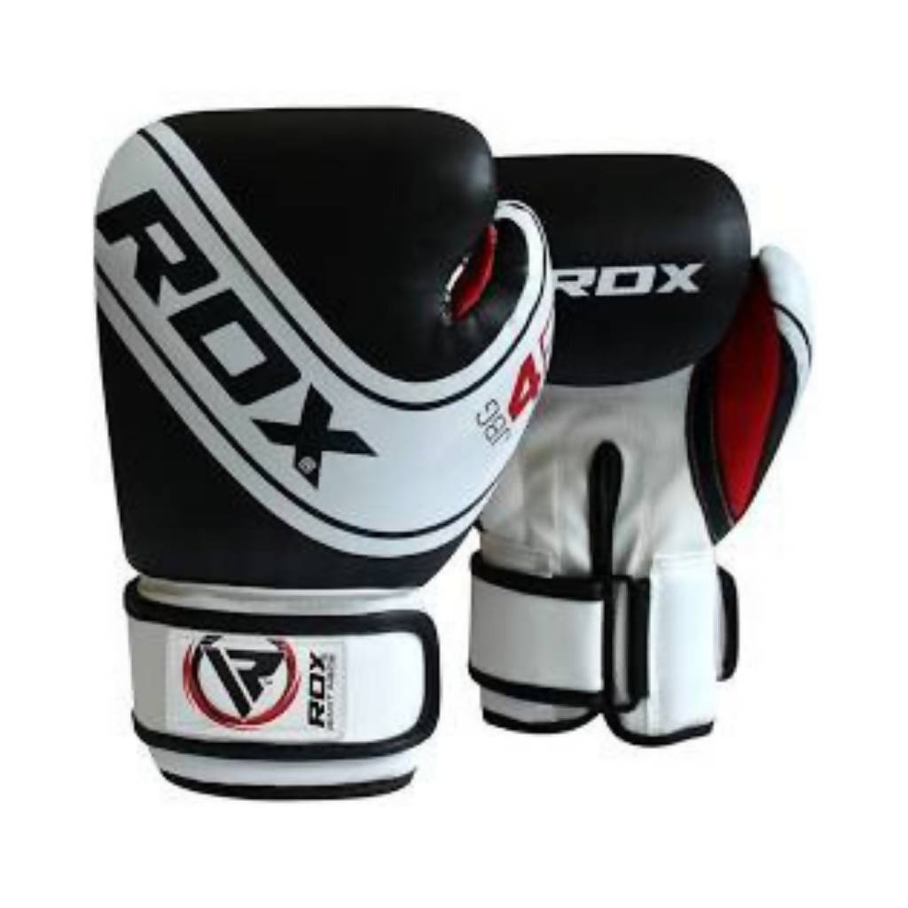 BOXING GLOVE KIDS WHITE/BLACK