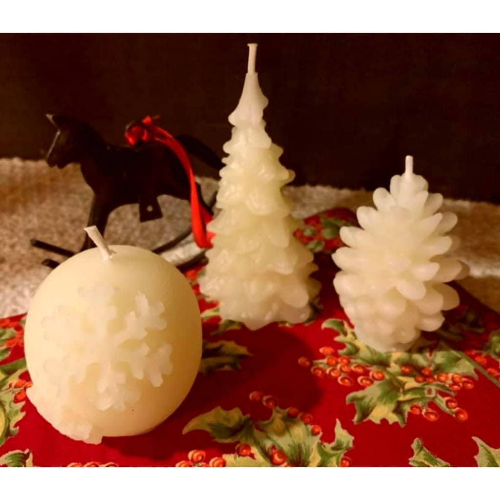 Winter and Holiday Candles