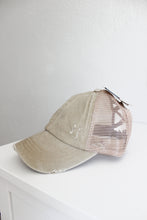 Load image into Gallery viewer, ?id=18428122529950 | C.C Pony Tail Hat Classic Baseball Cap | We Shop Local Perth ON