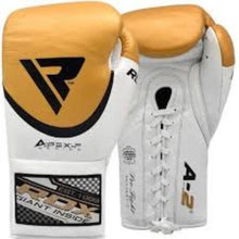 Load image into Gallery viewer, BOXING GLOVES - LEATHER PRO FA2