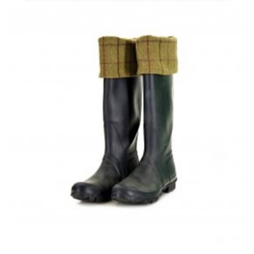 Tweed Welly Warmer - Boot Inserts
