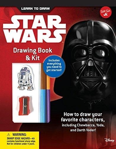 Star Wars Drawing Kit And Book