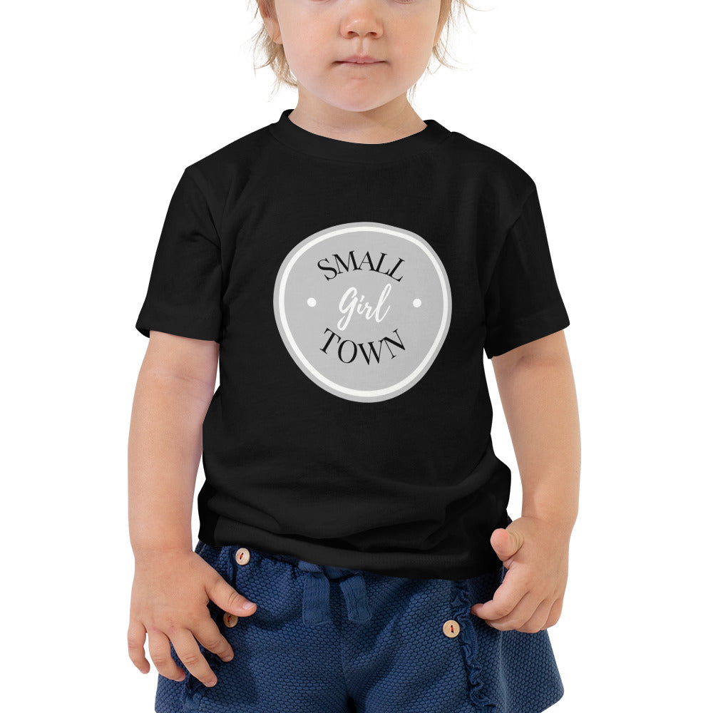 Small Town Girl Toddler Short Sleeve Tee