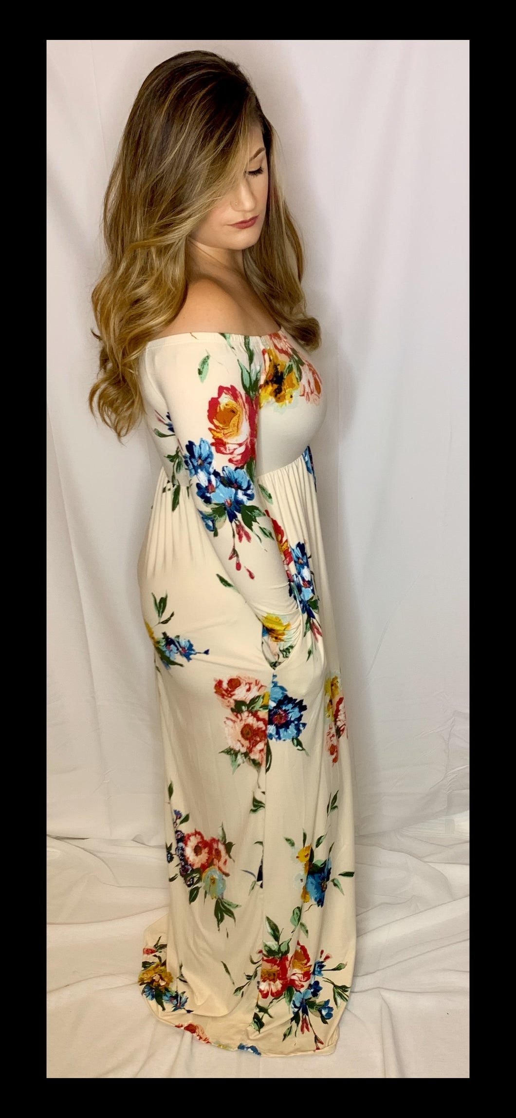 """Flow With Me"" Floral Dress"