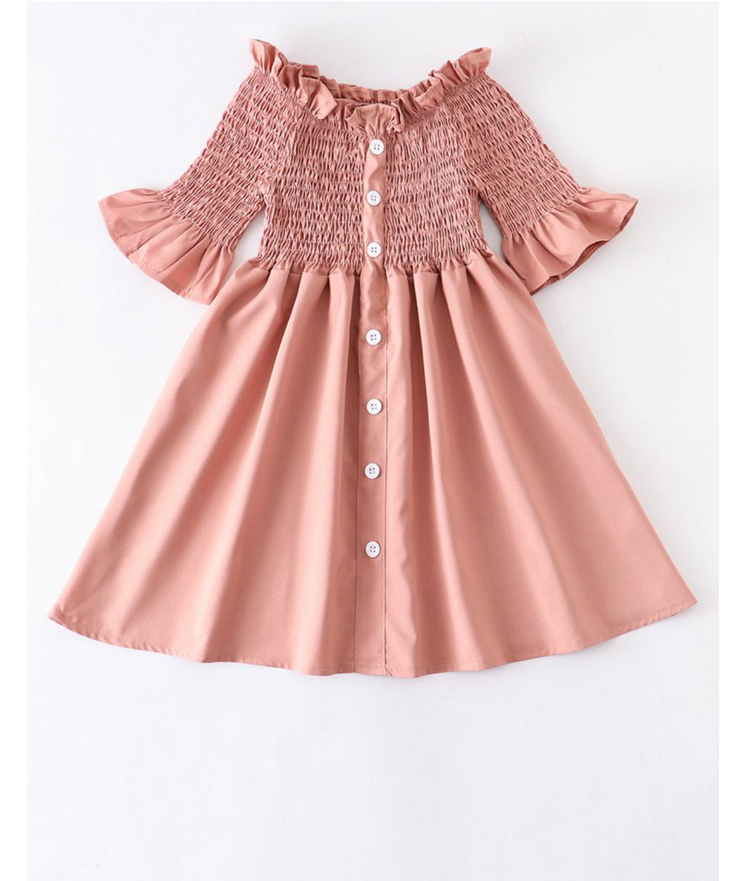 """Blush"" kids dress"