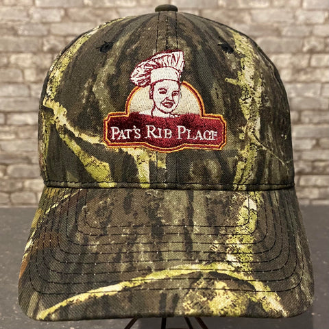 Pat's Camouflaged Baseball Cap Hat