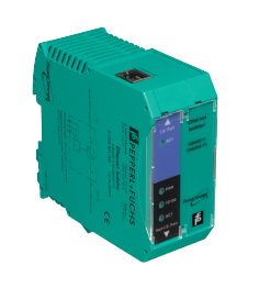 Power Supply; Fieldbus; Intrinsically Safe Ethernet Isolator; 19.2-35VDC
