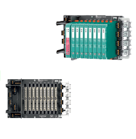 Compact Fieldbus Power Hub Motherboard with Common Interface