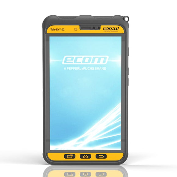 Tab-Ex® 02: Rugged Tablet for Zone 2 / DIV 2 | ecom instruments