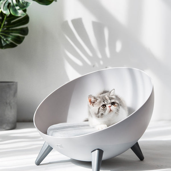 Hemispherical High-Elastic Sponge Cat Dog Litter Four Seasons Cat House Kitty Villa Cat Bed Summer New Enclosed Pet Supplies