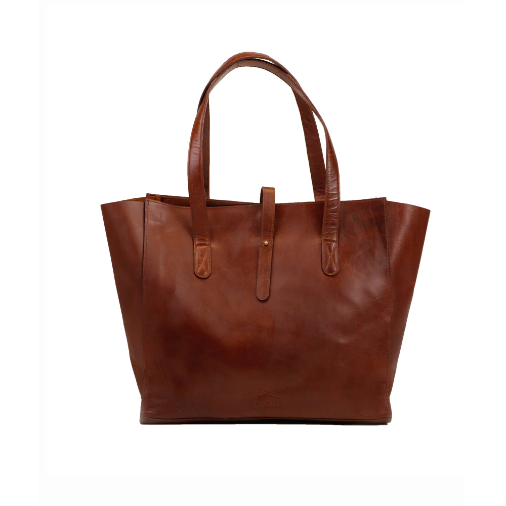 All Day Tote - Brown