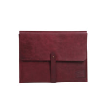 Load image into Gallery viewer, Laptop Folio - Burgundy