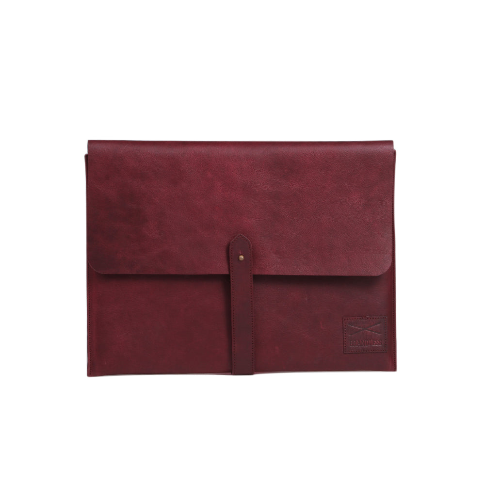 Laptop Folio - Burgundy