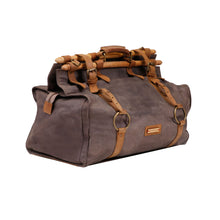 Load image into Gallery viewer, Indigenous Duffel - Grey and Tan