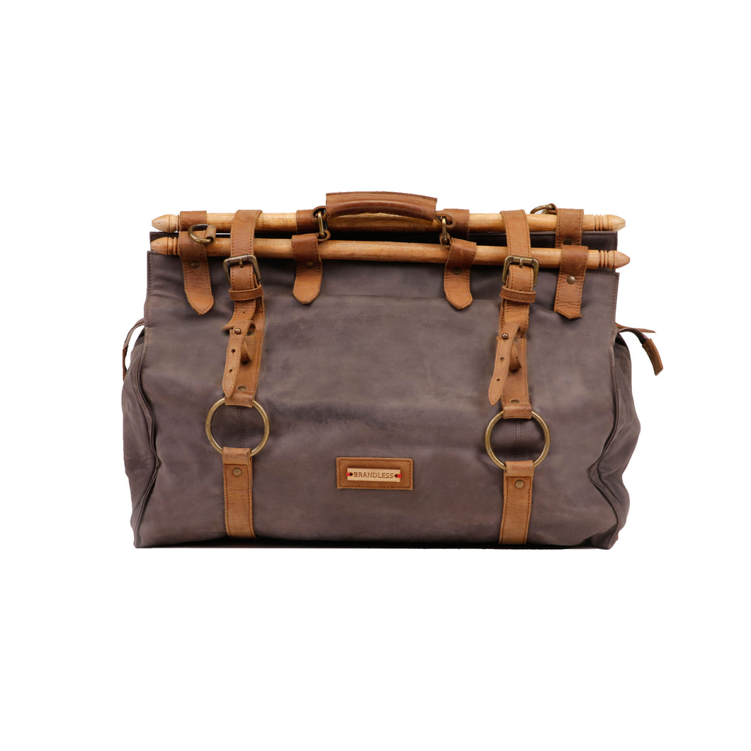Indigenous Duffel - Grey and Tan