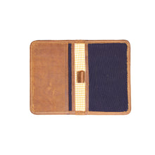 Load image into Gallery viewer, Passport Holder - Blue Brown