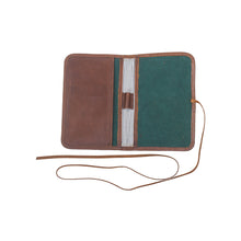 Load image into Gallery viewer, Passport Holder - Green Tan